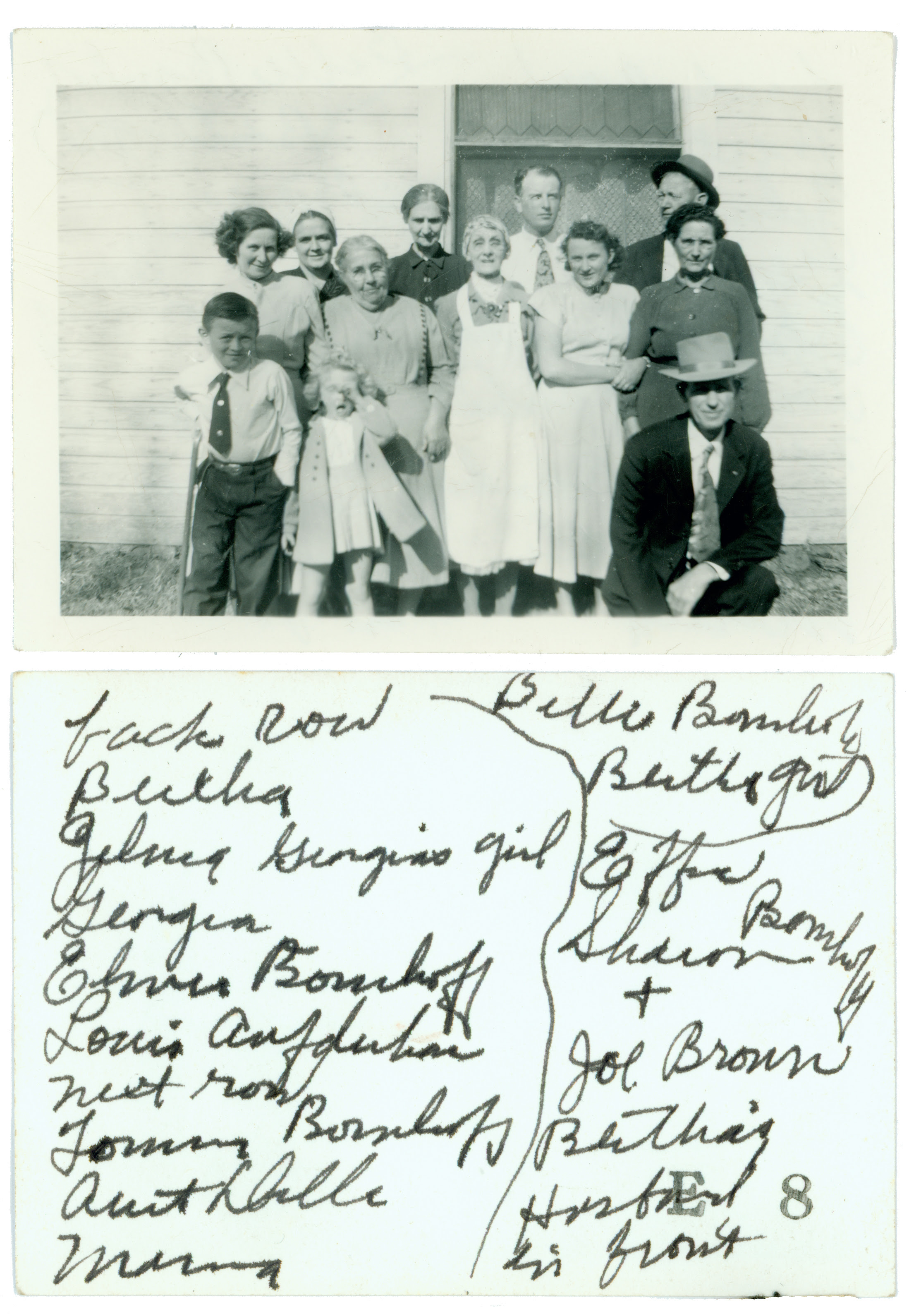 Family group with reverse