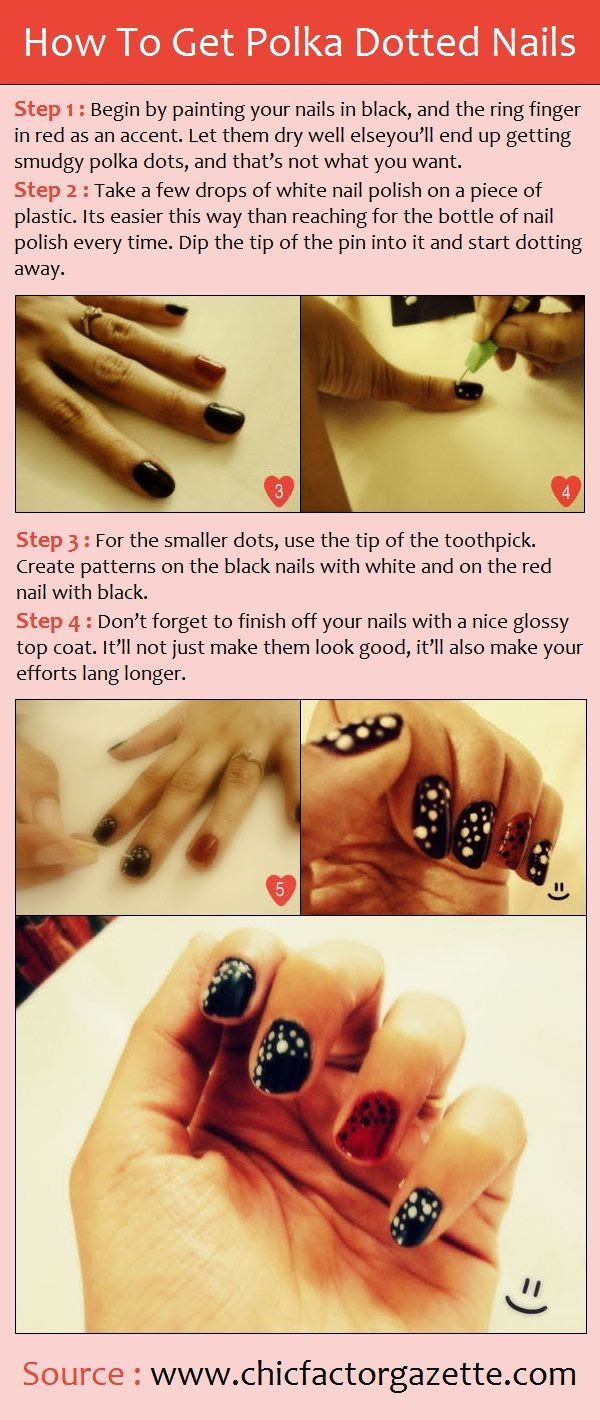 How To Get Polka Dotted Nails
