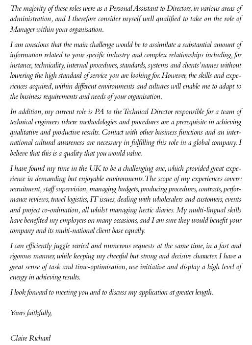 lettre de motivation logisticien exemple