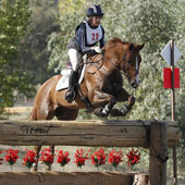 Alexandra Slusher rode Juicy Couture to the CCI2* championship.