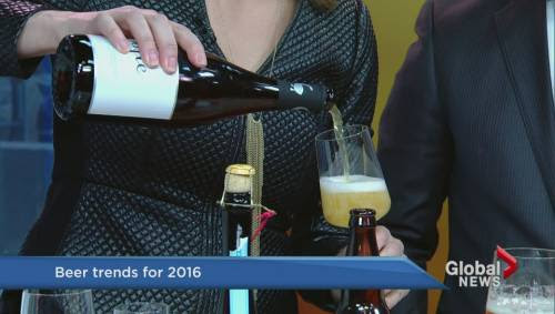 2016 beer trends bust traditional pint protocol | Watch News Videos Online