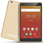 "Hyundai Koral 8W2 8"" Tablet 2GB 16GB Android 9.0 Gold HT0802W16A"