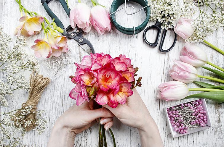 San Diego Florists Floral Design Classes Four Seasons Flowers