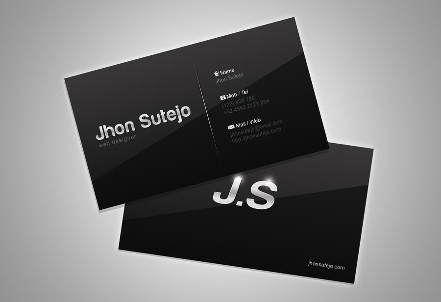 Elegant Business Cards Example Resumes