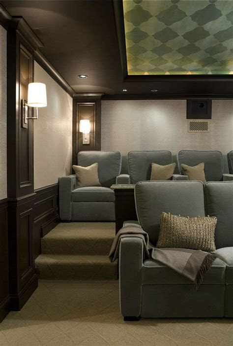 love  elegant  comfortable media room