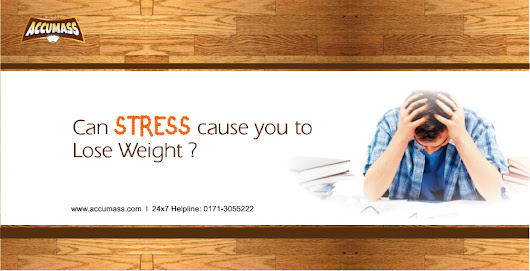 Can Stress Cause you to Lose Weight?