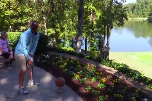 Getting Creative with Golf Trick Shots
