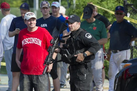 Why Capitol Police were with Rep. Scalise at the congressional baseball practice in the first place