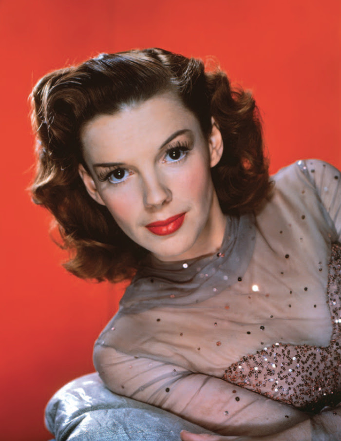 Judy Garland in 1945, from Hollywood in Kodachrome - pre-order now and get it in time for the holidays.