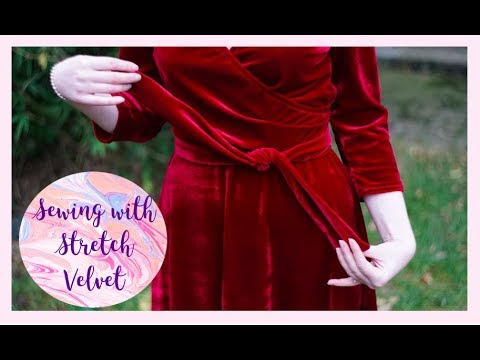 Top Tips and Recent Makes: Sewing With Stretch Velvet
