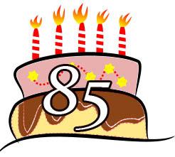 85 Geburtstag Glückwünsche Und Geburtstagssprüche