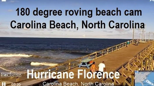 Where to Find Hurricane Florence Live Webcams