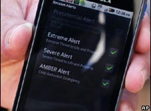 Sistema vai divulgar informações que 'podem salvar vidas', dizem autoridades (Foto: AP)