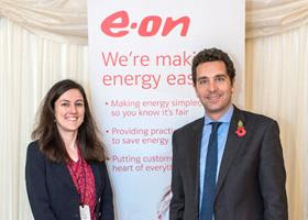 Ruth Day and Edward Timpson MP