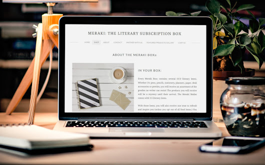 Great Gift for Writers! Meraki Writers Subscription Box - Helping Writers Become Authors