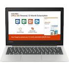 Lenovo 130S-11IGM 81KT 11.6″ Notebook - Celeron N4000 1.1 GHz - 4 GB RAM - 64 GB SSD - Mineral Gray
