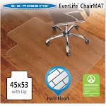ES Robbins Lip Chair Mat, Economy Series for Hard Floors