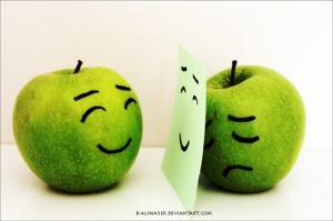 Smile and Behind Smile