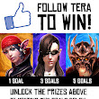 Follow TERA to Win!