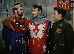 Sir Lancelot with Arthur