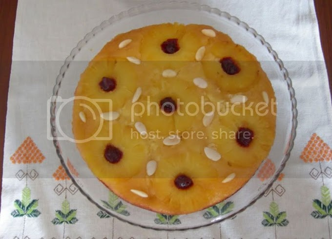 Altüst Ananaslı Kek