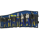 Vise Grip 1802537 Vise-Grip 7-Piece Irwin Traditional and Locking Pliers Set, Blue