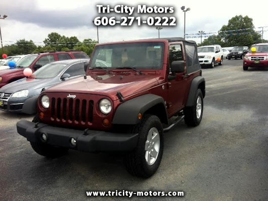 Used 2009 Jeep Wrangler for Sale in Somerset KY 42501 Tri-City Motors