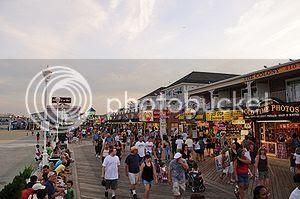 Ocean City Beaches in Maryland