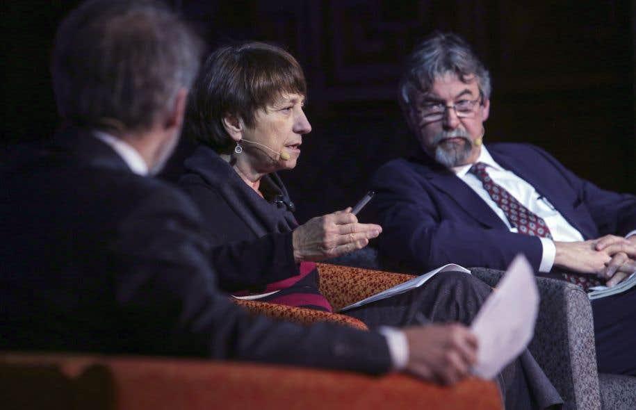 Françoise David participait au débat, tout comme Michel David.