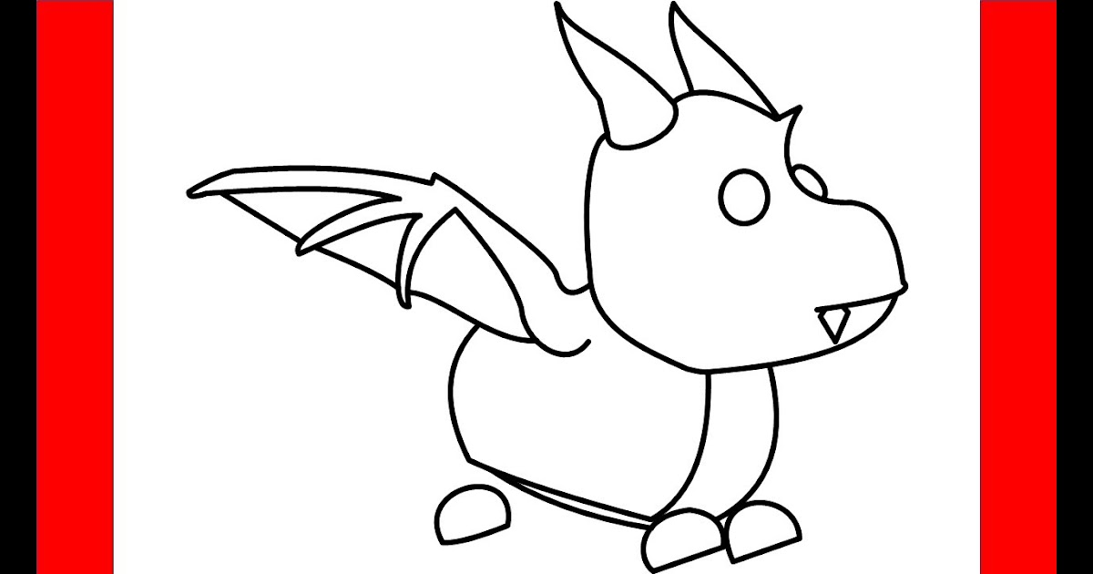 Roblox Adopt Me Pets Drawing