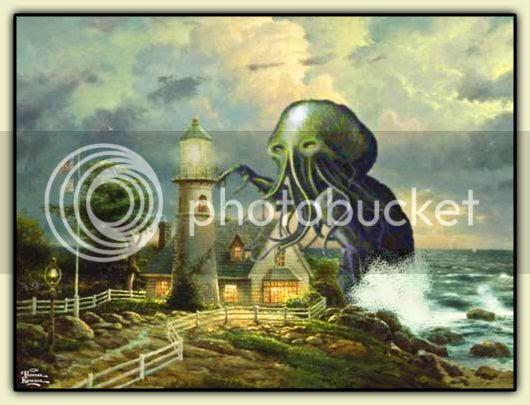 Kinkade Lighthouse