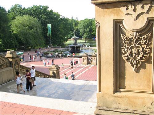 Bethesda Fountain, CenA Vtral Park