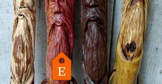 CreationCarvings shared a new photo on Etsy