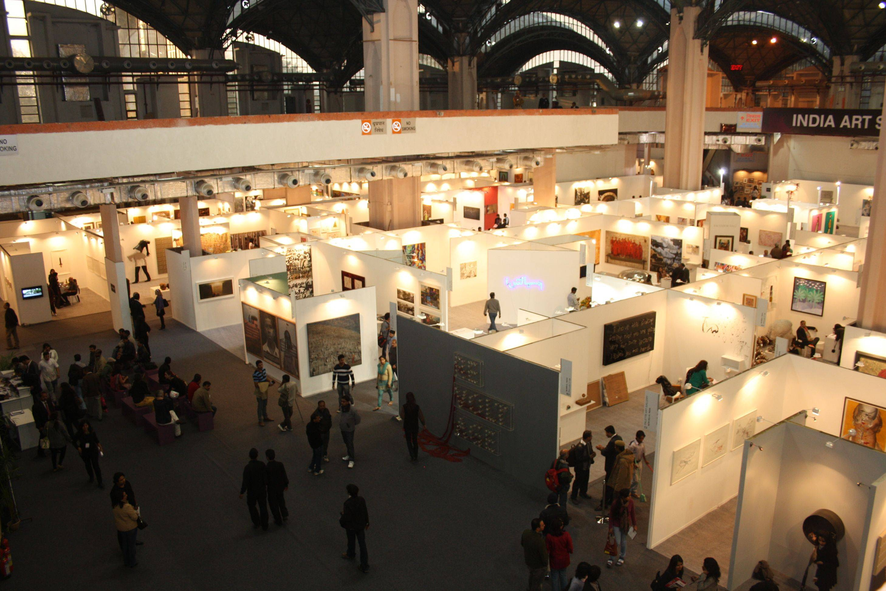 India Art Fair Gallery Booths