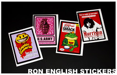 ARTHUSTLE-Ron-English-sticker