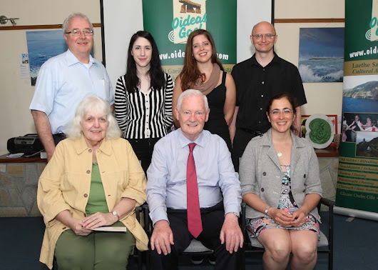 Minister Presents Fulbright Awards at Oideas Gael