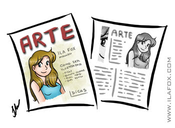 Onde trabalhar sendo ilustrador, ser freelancer ou carteira assinada, by ila fox
