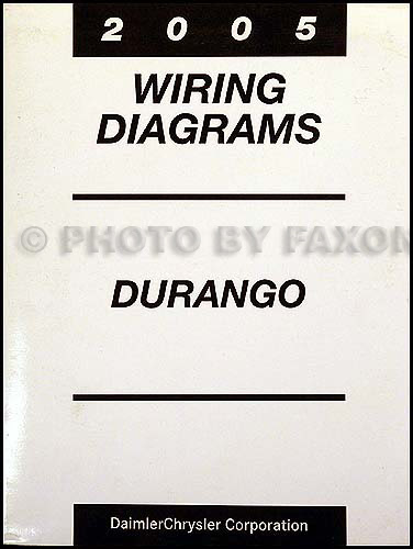 Wiring Diagram  27 2005 Dodge Durango Radio Wiring Diagram