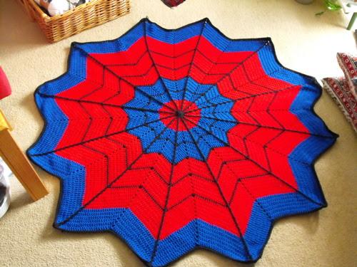 Spidey blanket