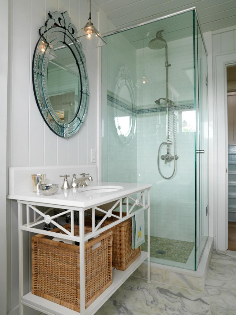 12 Clever Bathroom Storage Ideas | HGTV