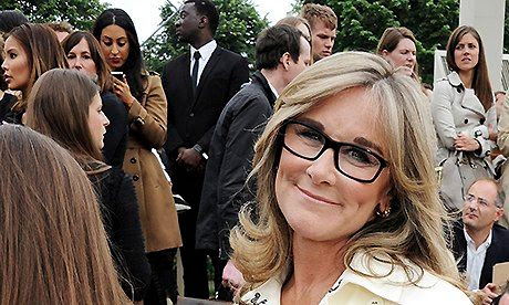 Angela Ahrendts leaves Burberry for new job at Apple