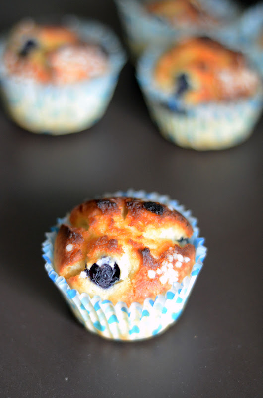 Fresh Blueberry Muffins | Fresh Fruit Muffin Recipe | Dip's Diner