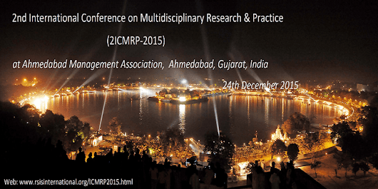 2nd International Conference on Multidisciplinary Research & Practice (2ICMRP-2015)
