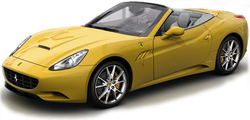 2010 Ferrari California (Hardtop Convertible)