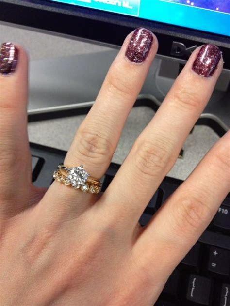 I really like the Tiffany solitaire with a bezel wedding