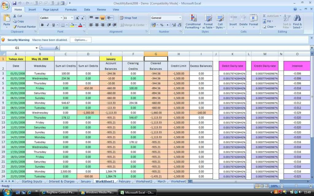 microsoft excel spreadsheet templates 3