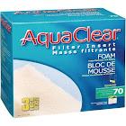 AquaClear 70 Filter Insert Foam, 3pk,