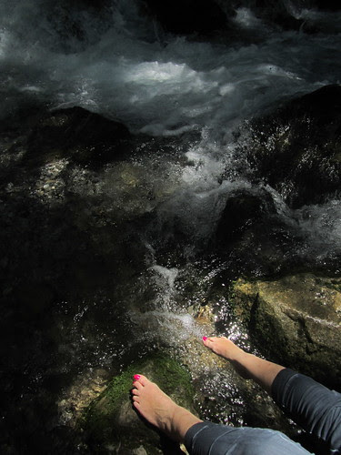 While I Soak My Feet by JoseAngelGarciaLanda