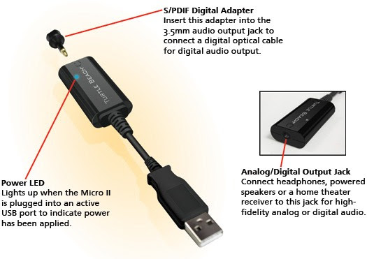 Turtle Beach upgrades, iterates USB soundcard line, adds optical output for true 5.1 surround
