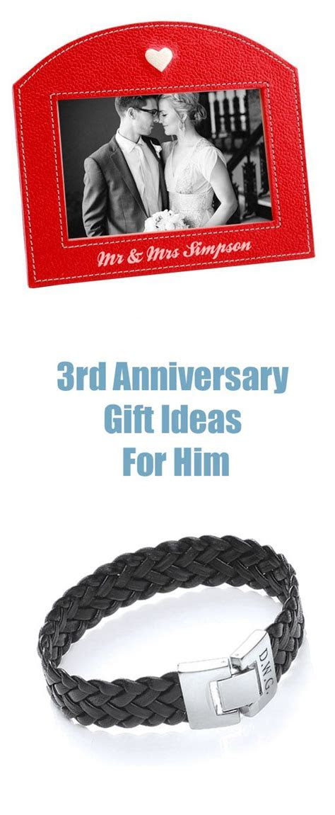 3rd anniversary gifts, Anniversary gift by year and